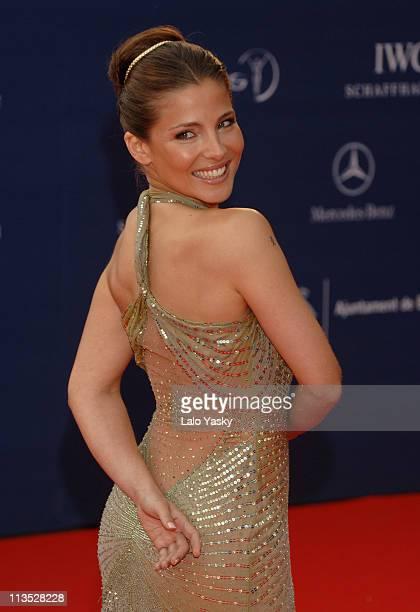Elsa Pataky during 2006 Laureus World Sports Awards Red Carpet Arrivals in Barcelona Spain