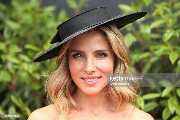 Elsa Pataky poses at the Emirates Marquee on Melbourne Cup Day at Flemington Racecourse on November 1 2016 in Melbourne Australia
