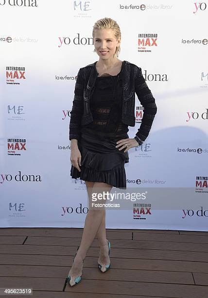 Elsa Pataky presents her new fitness book 'Intensidad Max' at the ME Hotel on June 4 2014 in Madrid Spain