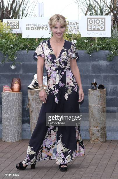 Elsa Pataky presents the new 'Gioseppo' women collection at the NH Madrid Suecia Hotel on April 25 2017 in Madrid Spain