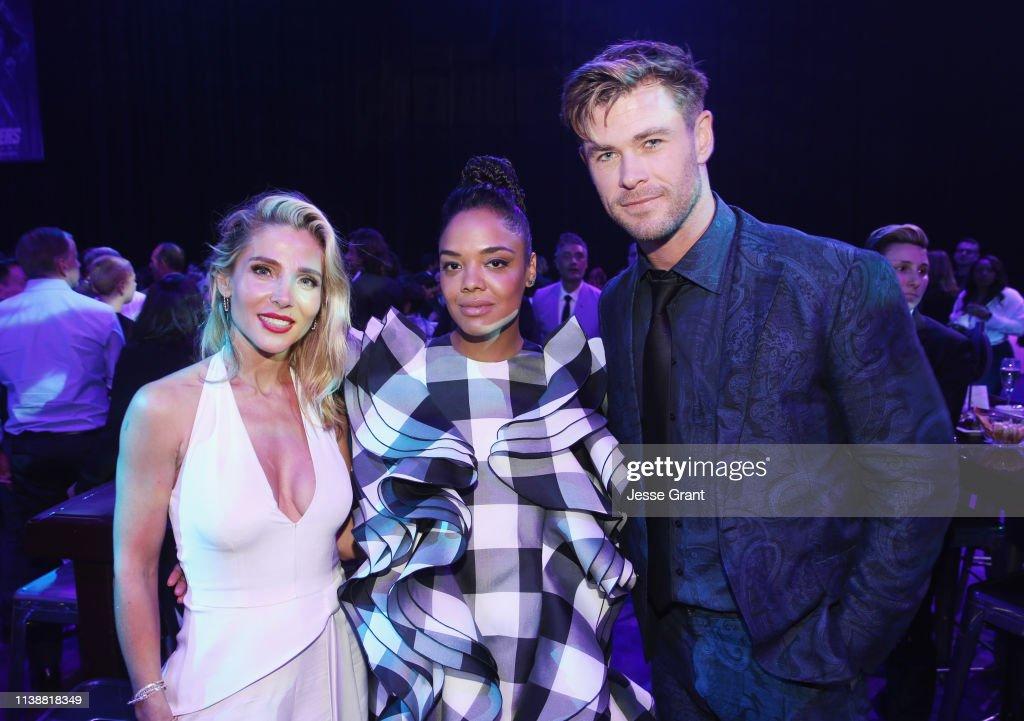 "Los Angeles World Premiere Of Marvel Studios' ""Avengers: Endgame"" : Foto jornalística"