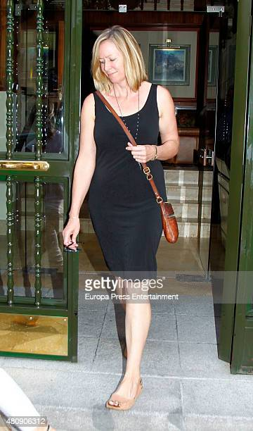 Elsa Pataky's mother-in-law Leonie Hemsworth is seen on July 7, 2015 in Madrid, Spain.