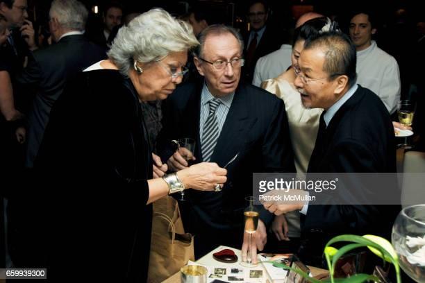 Elsa Peretti and Norhai Niikura attend ELSA PERETTI Celebrates 35 Years with TIFFANY & Co. At Tiffany & Co. On December 10, 2009 in New York City.