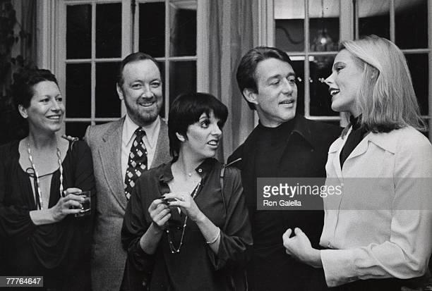 Elsa Perretti, Jack Haley Jr., Liza Minnelli, Halston and Margaux Hemingway
