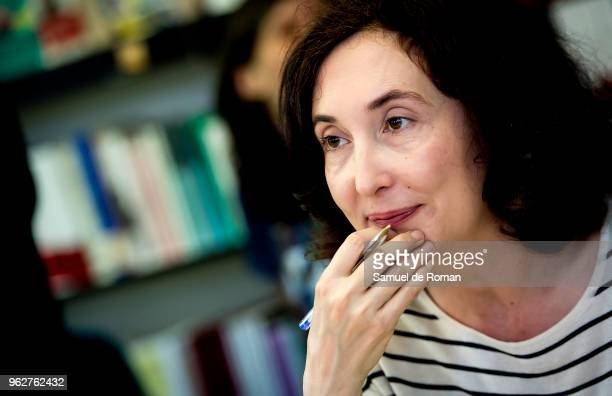 Elsa Punset attends during the book fair in Madrid on May 26 2018 in Madrid Spain