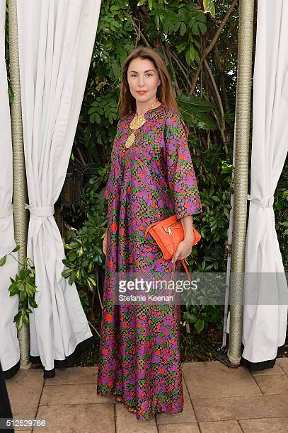 Elsa van Zandwijk attends NETAPORTER Celebrates Women Behind The Lens at Chateau Marmont on February 26 2016 in Los Angeles California