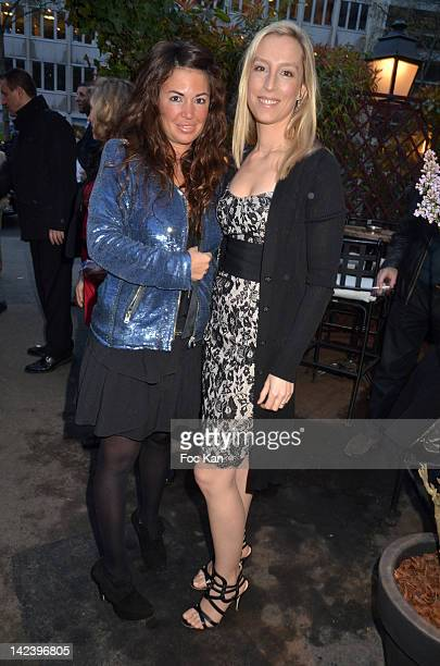 Elsa Wolinski and Adelaide de Clermont Tonnerre attend La Closerie des Lilas Litterary Awards 2012 5th Edition at La Closerie Des Lilas on April 3...