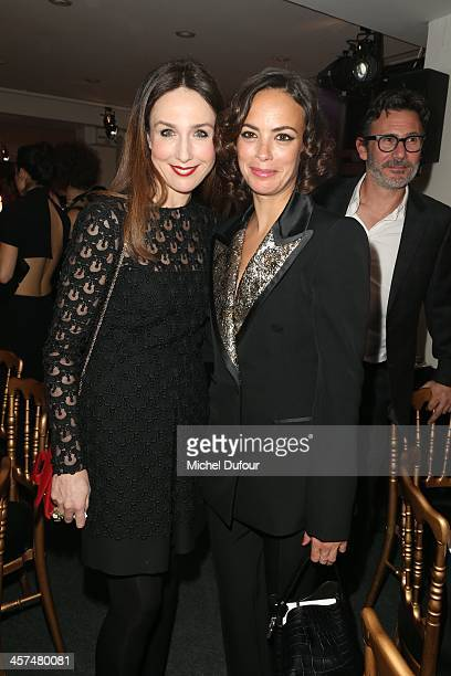 Elsa Zylberstein and Berenice Bejo attend the Annual Charity Dinner Hosted By The AEM Association Children Of The World For Rwanda on December 17...