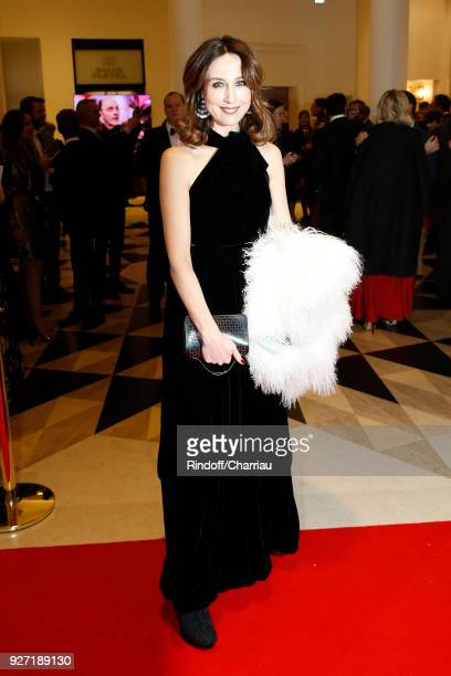 Elsa Zylberstein arrives at the Cesar Film Awards 2018 At Salle Pleyel on March 2 2018 in Paris France