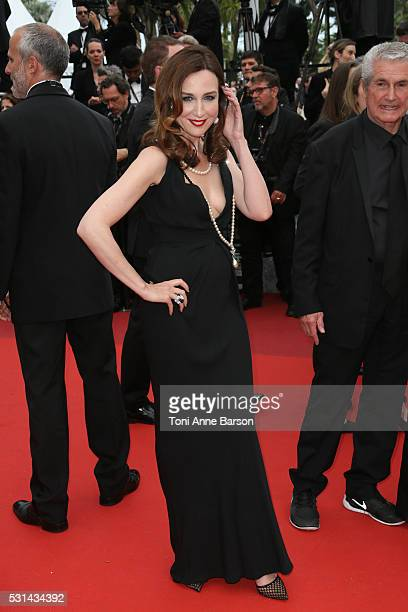 Elsa Zylberstein attends a screening of The BFG at the annual 69th Cannes Film Festival at Palais des Festivals on May 14 2016 in Cannes France