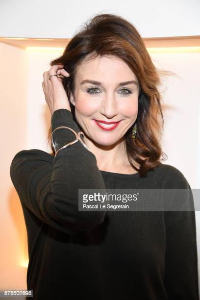 Elsa Zylberstein attends Christofle SaintHonore Boutique Opening on November 23 2017 in Paris France