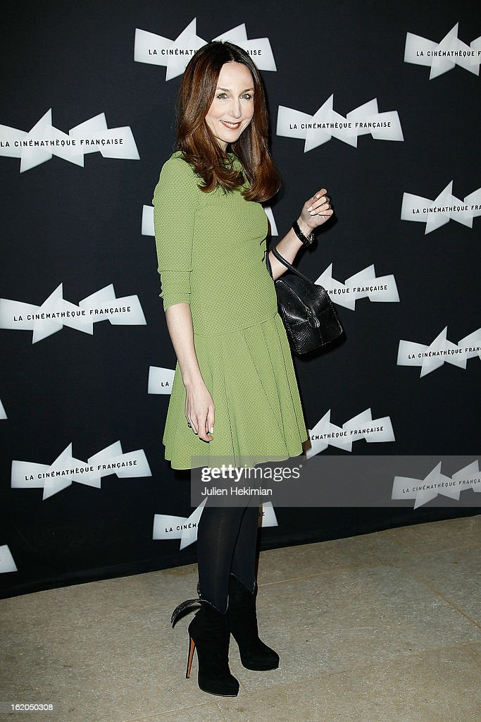 Elsa Zylberstein attends the Maurice Pialat Exhibition And Retrospective Opening at Cinematheque Francaise on February 18, 2013 in Paris, France.
