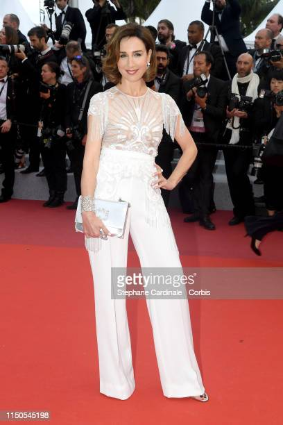 """Elsa Zylberstein attends the screening of """"La Belle Epoque"""" during the 72nd annual Cannes Film Festival on May 20, 2019 in Cannes, France."""