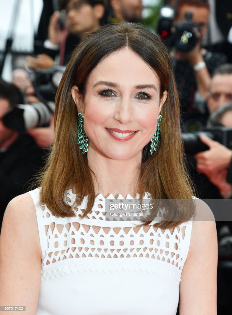 Elsa Zylberstein attends the screening of 'Sorry Angel (Plaire, Aimer Et Courir Vite)' during the 71st annual Cannes Film Festival at Palais des Festivals on May 10, 2018 in Cannes, France.