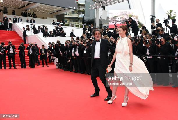 Elsa Zylberstein attends 'The Search' Premiere at the 67th Annual Cannes Film Festival on May 21 2014 in Cannes France