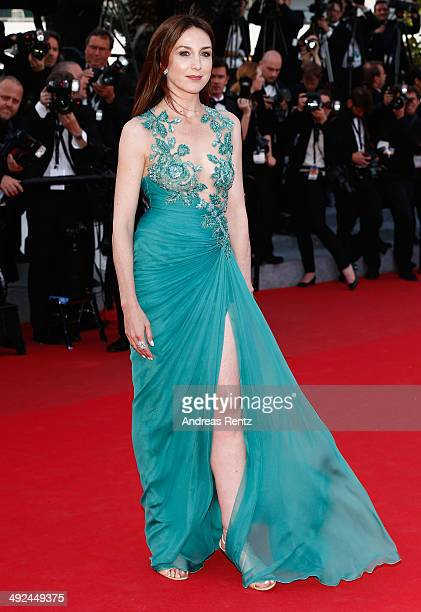 """Elsa Zylberstein attends the """"Two Days, One Night"""" premiere during the 67th Annual Cannes Film Festival on May 20, 2014 in Cannes, France."""