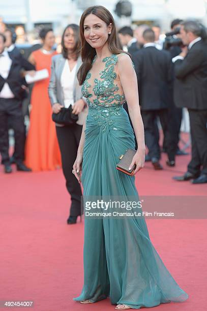 Elsa Zylberstein attends the 'Two Days One Night' premiere during the 67th Annual Cannes Film Festival on May 20 2014 in Cannes France