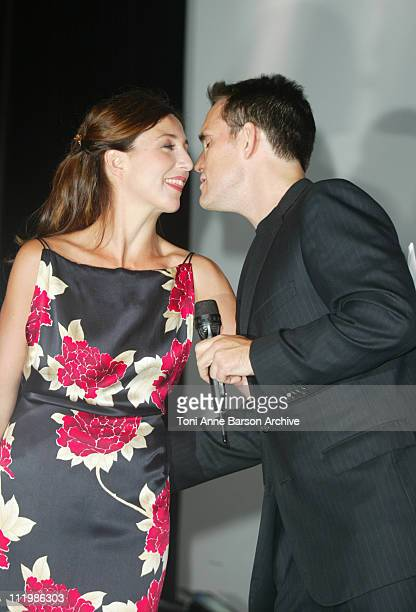 Elsa Zylberstein Matt Dillon during Deauville 2002 Tribute to Matt Dillon World Premiere of 'City of Ghosts' Inside at CID Deauville in Deauville...
