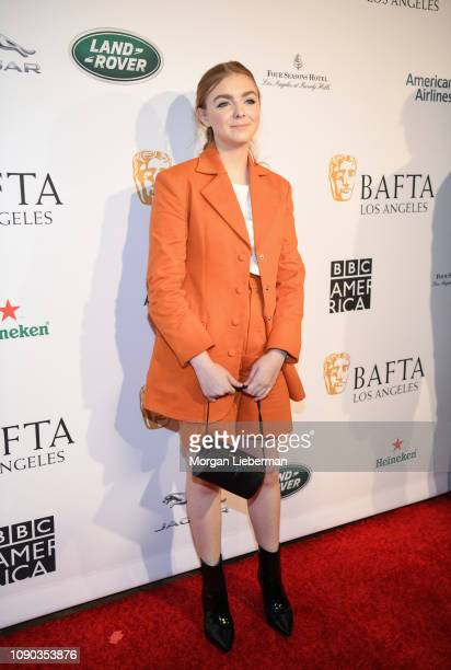 Elsie Fisher arrives at the BAFTA Los Angeles Tea Party at the Four Seasons Hotel Los Angeles in Beverly Hills on January 05 2019 in Los Angeles...