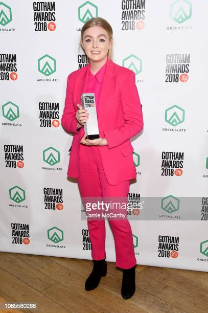 Elsie Fisher attends IFP's 28th Annual Gotham Independent Film Awards at Cipriani Wall Street on November 26 2018 in New York City