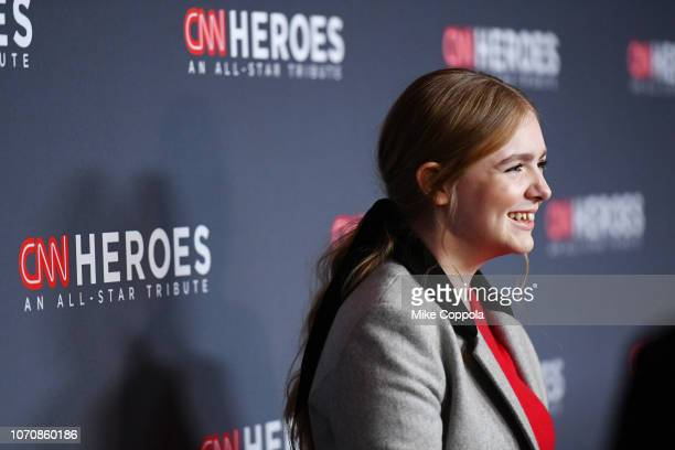 Elsie Fisher attends the 12th Annual CNN Heroes An AllStar Tribute at American Museum of Natural History on December 9 2018 in New York City