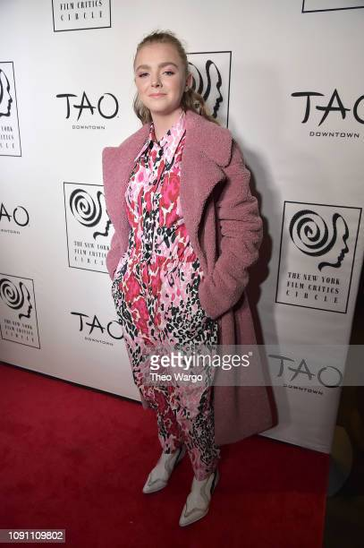 Elsie Fisher attends the 2018 New York Film Critics Circle Awards at TAO Downtown on January 07 2019 in New York City