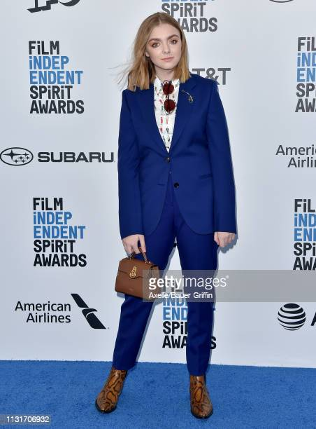 Elsie Fisher attends the 2019 Film Independent Spirit Awards on February 23 2019 in Santa Monica California