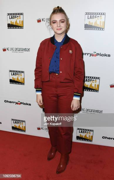 Elsie Fisher attends the 2nd Annual Los Angeles Online Film Critics Society Award Ceremony at Taglyan Cultural Complex on January 09 2019 in...