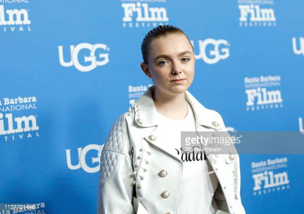 Elsie Fisher attends the 34th annual Santa Barbara International Film Festival Virtuosos Award Ceremony at Arlington Theater on February 05 2019 in...
