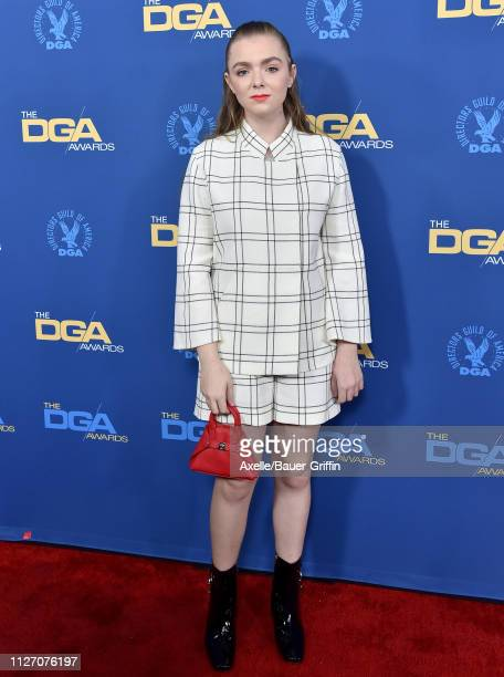 Elsie Fisher attends the 71st Annual Directors Guild of America Awards at The Ray Dolby Ballroom at Hollywood Highland Center on February 02 2019 in...