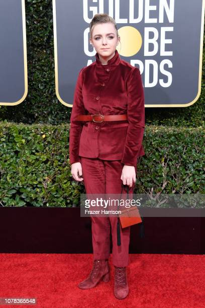 Elsie Fisher attends the 76th Annual Golden Globe Awards at The Beverly Hilton Hotel on January 6 2019 in Beverly Hills California