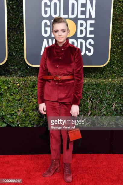 Elsie Fisher attends the 76th Annual Golden Globe Awards held at The Beverly Hilton Hotel on January 06 2019 in Beverly Hills California