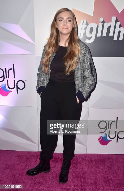 Elsie Fisher attends the #girlhero Award Luncheon at SLS Hotel on October 14 2018 in Beverly Hills California