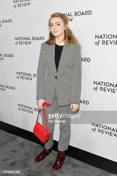 Elsie Fisher attends The National Board of Review Annual Awards Gala at Cipriani 42nd Street on January 8 2019 in New York City