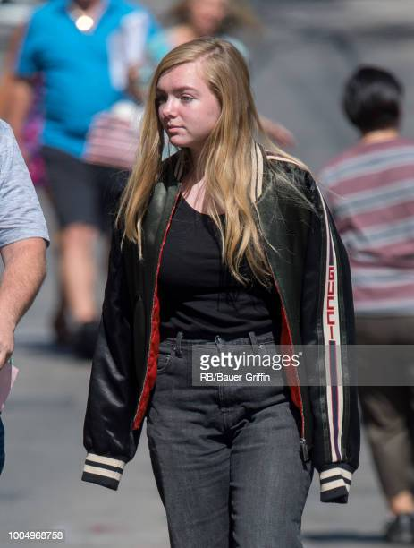 Elsie Fisher is seen at 'Jimmy Kimmel Live' on July 24 2018 in Los Angeles California