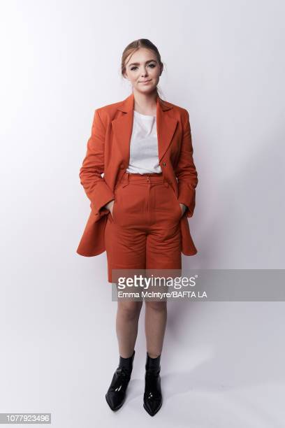 Elsie Fisher poses for a portrait at The BAFTA Tea Party on January 5 2019 in Beverly Hills California