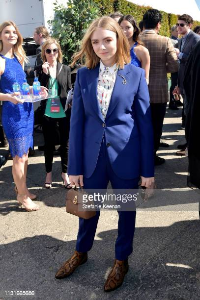 Elsie Fisher with FIJI Water during the 2019 Film Independent Spirit Awards on February 23 2019 in Santa Monica California