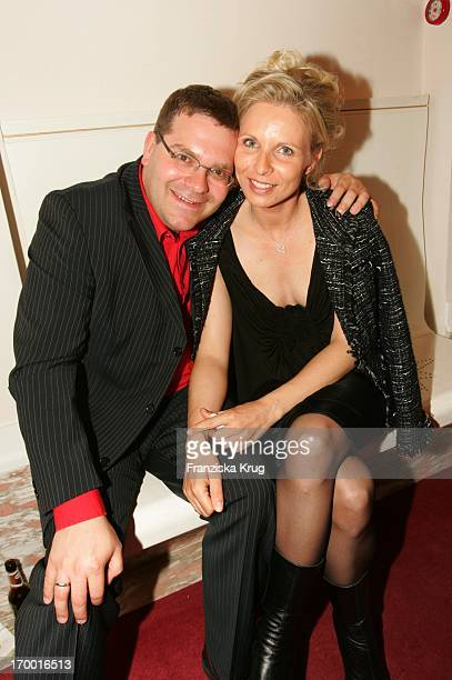 "Elton And Wife Yvonne At The Premiere Of The Musicals ""The 3 Musketeers"" at Theater des Westens in Berlin.."