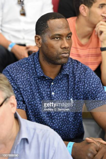 Elton Brand attends USAB Minicamp at Mendenhall Center on the University of Nevada Las Vegas campus on July 27 2018 in Las Vegas Nevada NOTE TO USER...