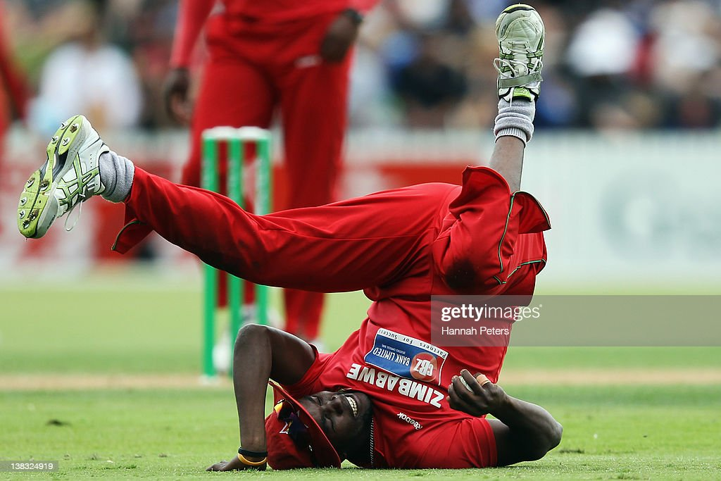 New Zealand v Zimbabwe - 2nd One Day International