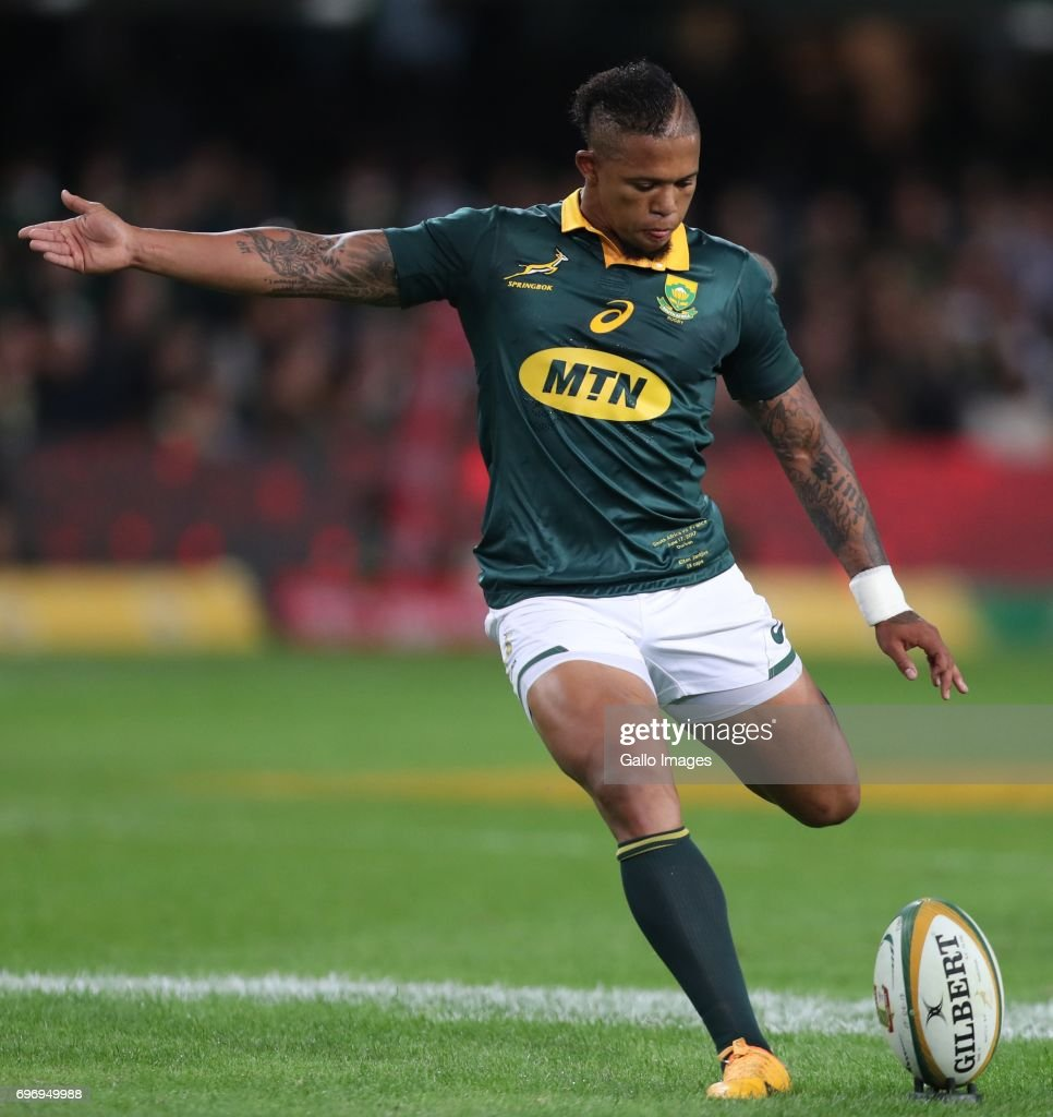 Castle Lager Incoming Series, 2nd Test: South Africa v France : News Photo