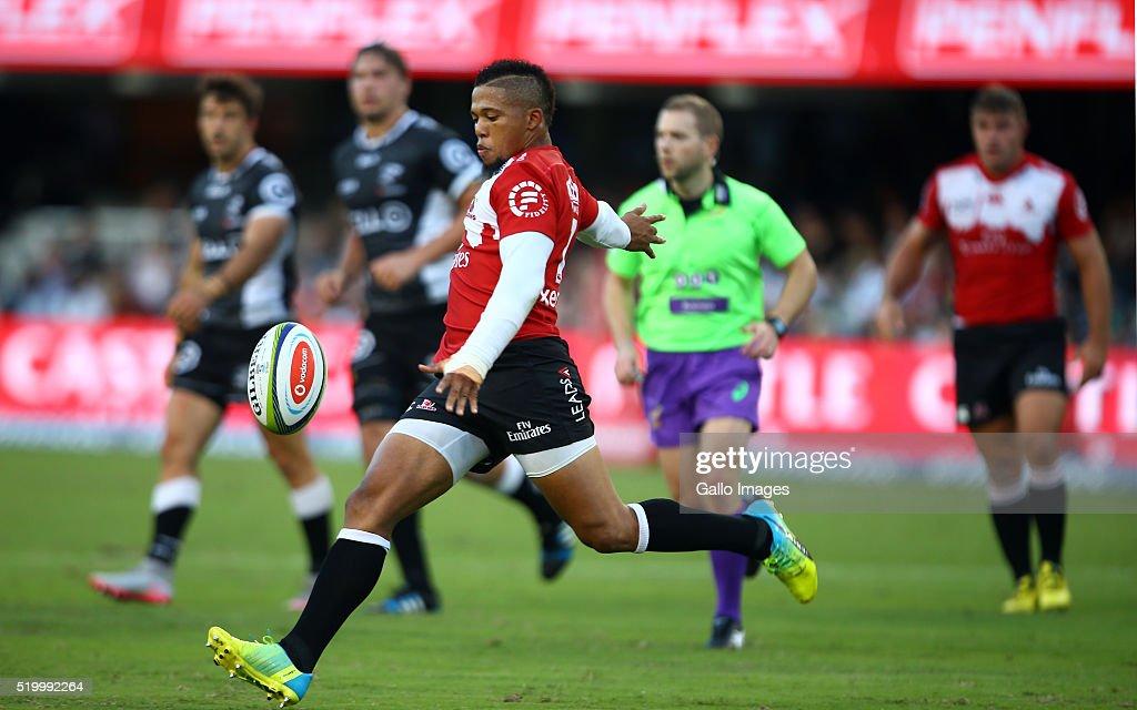 Super Rugby Rd 7 - Sharks v Lions : News Photo