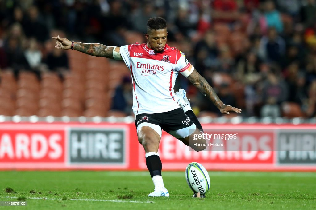 Super Rugby Rd 10 - Chiefs v Lions : News Photo