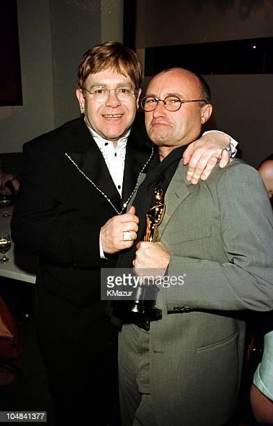 Elton John and best song oscar winner Phil Collins