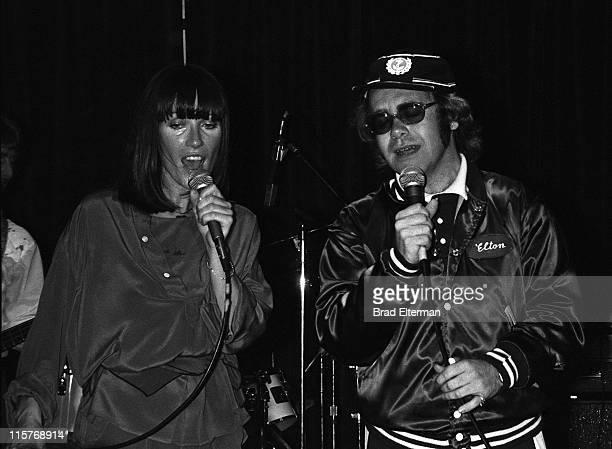 Elton John and Kiki Dee perform at Doug Weston's Troubadour in Los Angeles Calfornia