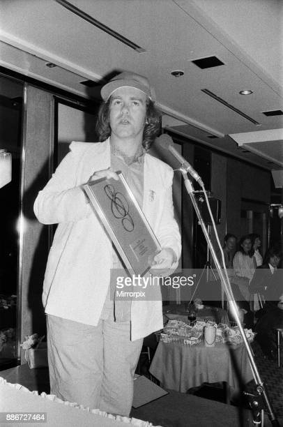 Elton John at the Music Therapy Charity Luncheon at the Intercontinental Hotel in Park lane June 1979