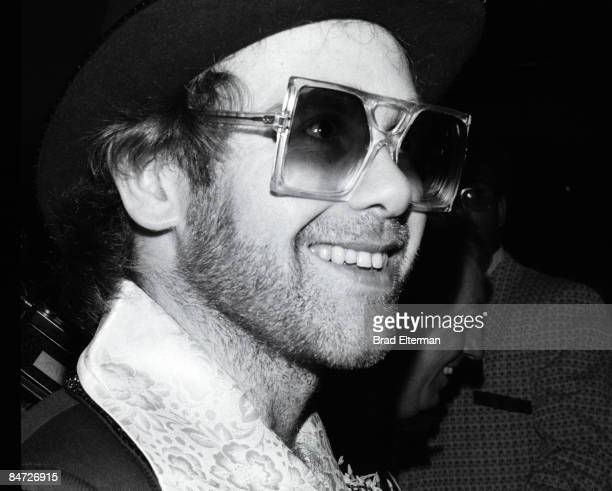 LOS ANGELES JANUARY 01 1975 Elton John at the Tommy Party in Los Angeles Calfornia **EXCLUSIVE**