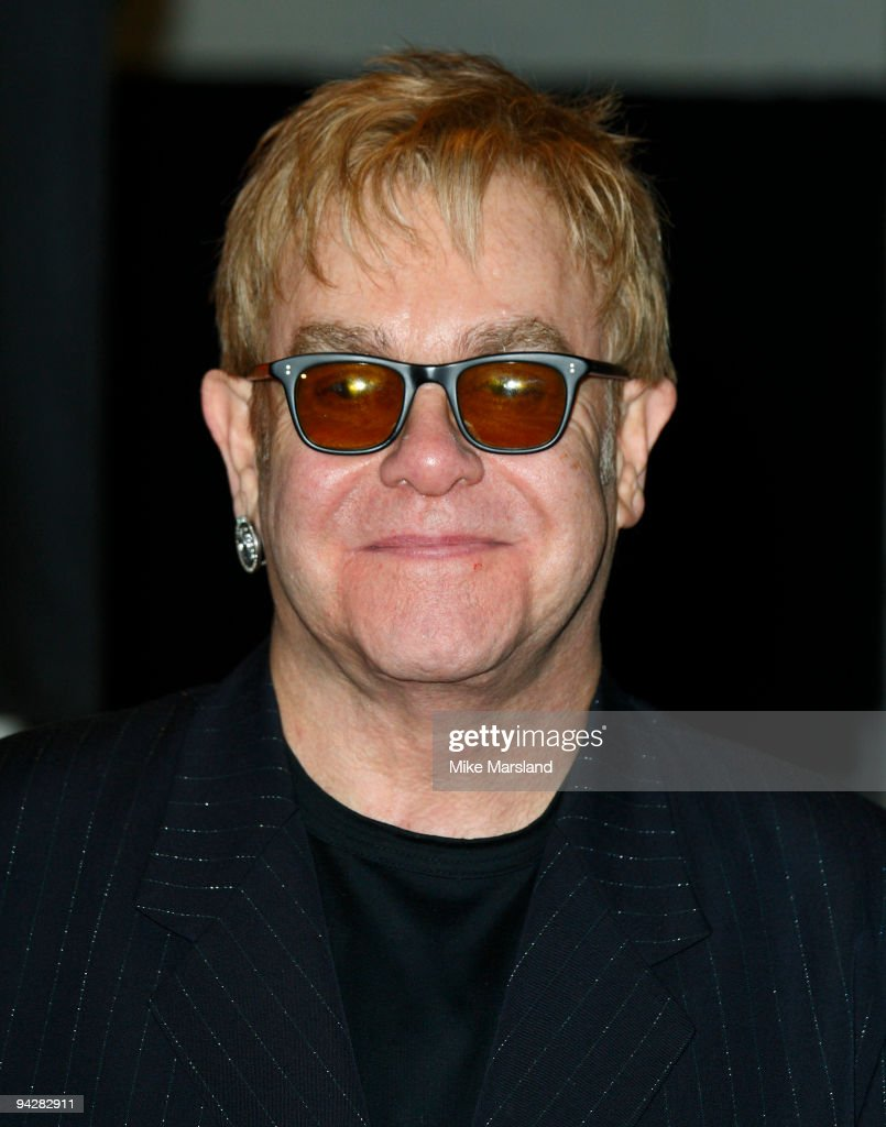 Elton John Attends A Photocall To Open A Pop Up Shop Selling Clothes From  Elton Johnu0027s
