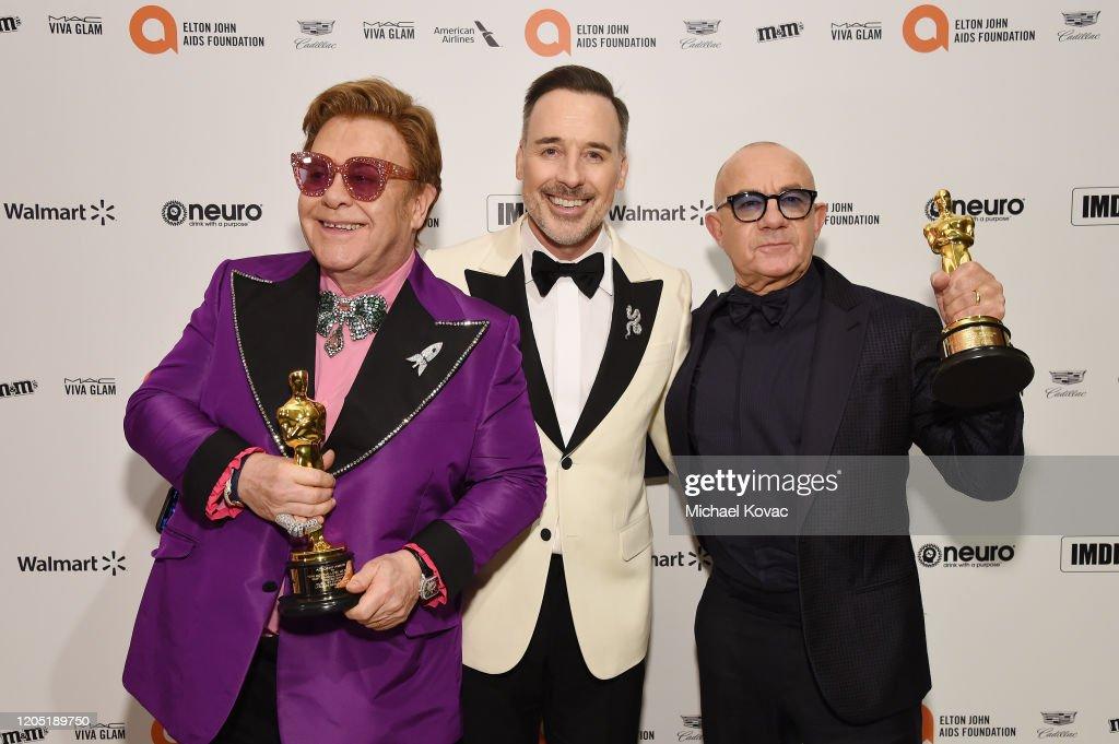 28th Annual Elton John AIDS Foundation Academy Awards Viewing Party Sponsored By IMDb, Neuro Drinks And Walmart - Inside : Nachrichtenfoto