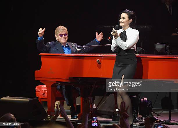 Elton John performed songs from his new album Wonderful Crazy Night out February 5, as well as classic hits, on January 13th at the Wiltern in Los...